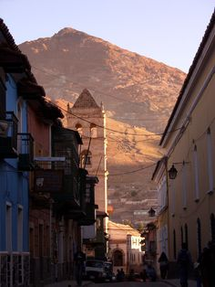 City of Potosí, Bolivia - a UNESCO World Heritage area