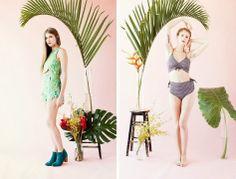 samantha pleet tropical lookbook
