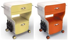 retro kitchen trolley #CoolRetroHomeDecorBigChill