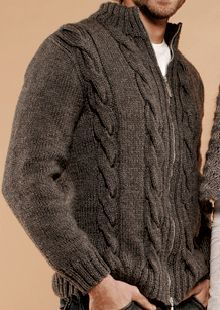 Knitting # Knitting # First of all # Patience # One # and # before # we # knit something # finish # see # # we knit # person # immediately # we want you # we want it. Mens Knitted Cardigan, Men Sweater, Male Cardigan, Style Masculin, Knitting Designs, Knit Patterns, Baby Knitting, Fall Outfits, Knitwear