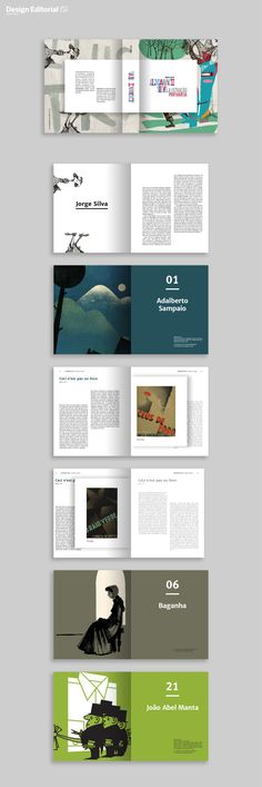 Book Design. Ana Coelho.  Almanaque Silva (extracts from the blog with the same name, by Jorge Silva)