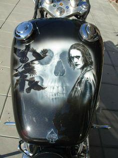 """The Crow"" - Bike Steed 400cc"