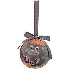 Elephant Christmas Ornament Blinking Animal
