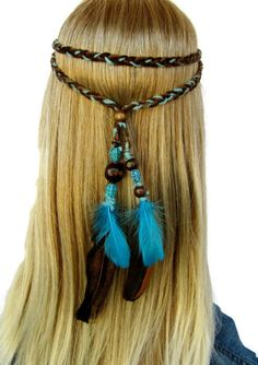 Hey, I found this really awesome Etsy listing at https://www.etsy.com/listing/93844763/earth-blues-braided-hippie-boho-native