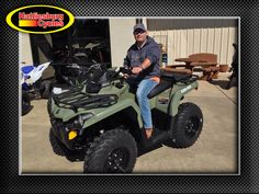 Thanks to Josh Pounds from Wilmer MS for getting a 2017 Can-Am Outlander 450. @HattiesburgCycles