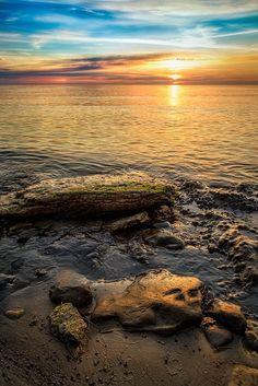 The Summer sunset, Estonian ♡ #VisitEstonia #ColourfulEstonia