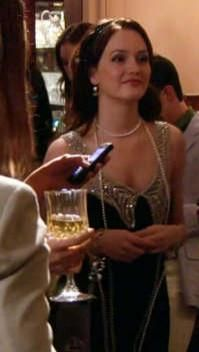 """Blair's Foley & Corinna dress on """"All About My Brother"""" GG"""