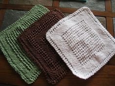 Eloomanator's Dishcloth with variations