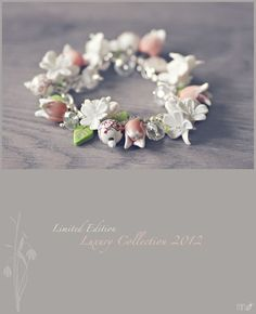 handmade by miri tulips and jasmine flowers Polymer Clay Creations, Polymers, Jasmine, Tulips, Craft Ideas, Stud Earrings, Handmade, Crafts, Jewelry