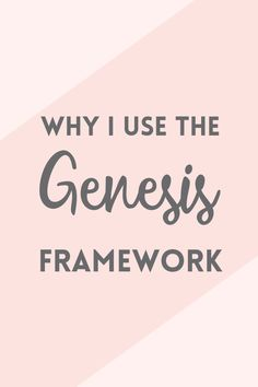 Top 10 reasons why I use the Genesis framework for WordPress