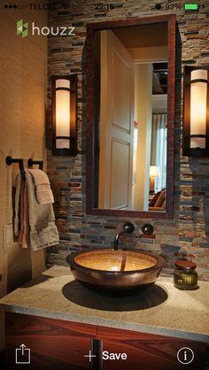 Portentous Useful Ideas: Bathroom Remodel Gray Small bathroom remodel neutral interior design.Cheap Bathroom Remodel Floor half bathroom remodel the doors. Wc Decoration, Decorations, Half Bathroom Remodel, Bathroom Remodeling, Remodeling Ideas, Washbasin Design, Powder Room Design, Bath Design, Vanity Design