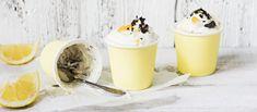 Raikas sitruunarahka saa lisää makeutta ihanasta lemon curdista. Sitruunarahka sopii hyvin vaikka pääsiäisen jälkiruoaksi. Noin 0,85€/annos