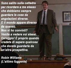 Parole che ispirano - L'attimo fuggente - Film - Robin Williams