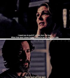 "#The100 4x12 ""The Chosen"" - Abby and Kane"