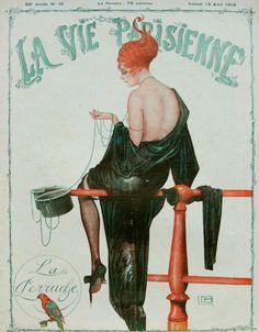 La Vie Parisienne, 1918.