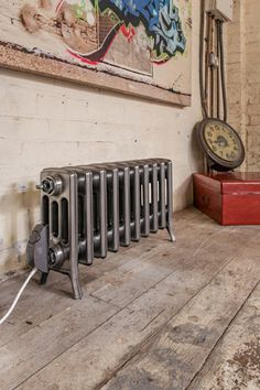 Electric Forge - lacquered bare cast iron radiator