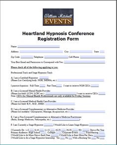 Form Name, Registration Form, Best Email, Early Bird, Heartland, Conference, Mental Health, Public, Names
