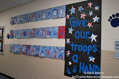 Veterans Day display