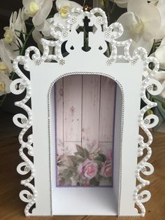 Decoupage, Perfume, Scrapbook, Mother Mary, Alters, Mandala, Santa, Frame, Home Craft Ideas