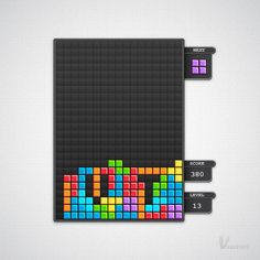 Create a Block Game Interface in Illustrator — Tuts