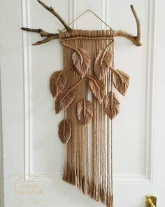 Only 30 days left to order your custom Monstera Macrame Wall Hanging! Here is another view of a recent sand coloured Monstera Only 30 days left to order your custom Monstera Macrame Wall Hanging! Here is another view of a recent sand coloured Monstera Macrame Design, Macrame Art, Macrame Projects, Macrame Knots, Macrame Mirror, Macrame Curtain, Driftwood Macrame, Macrame Wall Hanging Patterns, Macrame Patterns