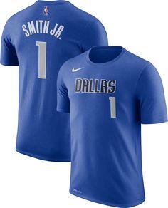 Nike Youth Dallas Mavericks Dennis Smith Jr.  1 Dri-FIT Blue T- ac73b9d4f