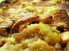 English Toffee Apple Bread And Butter Pudding Recipe - Food.com