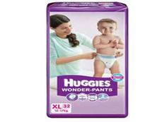 Huggies Wonder Pants Extra Large Diapers (32 Count) At Rs.420