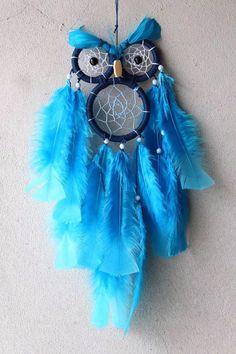 filtro dos sonhos de coruja apanhador dreamcatcher