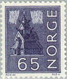 Sello: Landsmotieven (Noruega) (Local motives) Mi:NO 505x,Sn:NO 427,Yt:NO 446,AFA:NO 519
