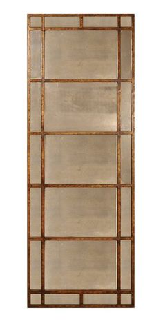 Avidan Leaner Mirror Two of these = hung horizontally (stacked) on my living room wall - mla Antique Gold Mirror, Bronze Mirror, Antique Glass, Antique Decor, Venetian Mirrors, Bliss Home And Design, Home Design, Interior Design, Design Lab