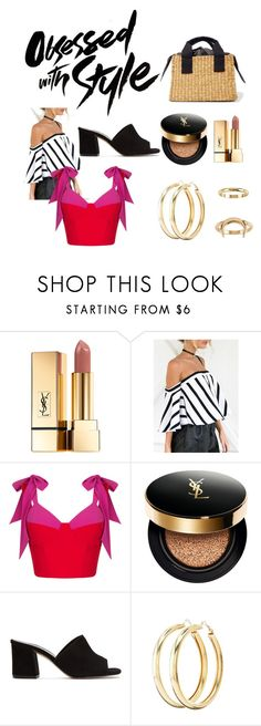 """""""obsessed with style"""" by getdressedwithme on Polyvore featuring moda, Yves Saint Laurent, Rasario, Maryam Nassir Zadeh, Charlotte Russe i Billabong"""
