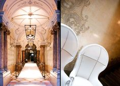 Beautiful hotel interiors by interior designer Lazaro Rosa-Violan.' Above are some hotels that he has worked on (mostly in. Modern Castle, Days Hotel, Public Hotel, Barcelona Hotels, Great Hotel, Hotel Interiors, Beautiful Hotels, Hotel Lobby, Historical Architecture