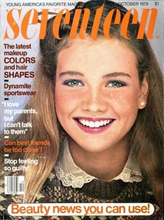 Beatrice discovers makeup in her teens. 70s Makeup, Latest Makeup, Vintage Makeup, Fashion Magazine Cover, Magazine Covers, Vintage Magazines, Teen Magazines, Beauty Tips For Teens, Teen Beauty