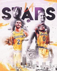 "Enrique Castellano on Instagram: ""The future is promising for the Los Angeles Lakers as they have four promising stars who all could get better. In the long run, who will be…"" Nba Wallpapers, Sports Graphics, Print Layout, Los Angeles Lakers, Basketball Players, Get Well, How To Run Longer, 4 Life, Branding"
