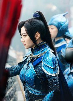 Jing Tian in 'The Great Wall' (2016).