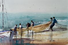 Buying a Boat Buy A Boat, Art Pictures, Art Pics, Watercolor Art, Gallery, Drawings, Artwork, Beaches, Boats
