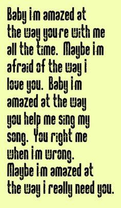 Paul McCartney - Maybe I'm Amazed - song lyrics, music lyrics, song quotes, music quotes, songs