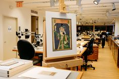 The Paper Conservation Department at The Metropolitan Museum of Art