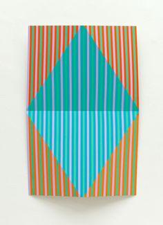 Bezold, 2009, 95x150x14cm, Acryl auf Alublech, Edgar Diehl