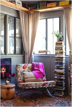 10 Places In Your Home to Display Books At 3