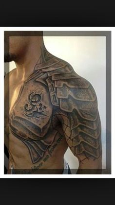 150 Best Armor Tattoo Images Armor Tattoo Shoulder Tattoo