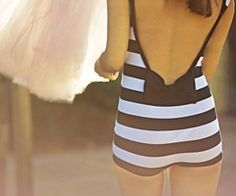 retro bathing suit