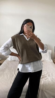 Indie Fashion, Korean Fashion, Vintage Fashion, Cute Casual Outfits, Casual Chic, Work Outfits, Ivy League Style, Parisian Chic Style, Winter Fashion Outfits