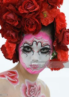 A model participates in the 2010 Daegu International Bodypainting Festival on August 28, 2010 in Daegu, South Korea. The festival is the largest in the field of body painting and introduces the art form to thousands of visitors each year.