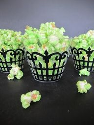 Slimer Popcorn for ghostbusters party