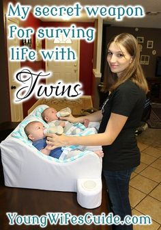 My secret weapon for surviving life with twins