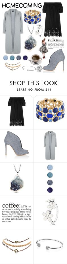 """Untitled #100"" by korotkevich-1 ❤ liked on Polyvore featuring Iris & Ink, Monet, Gianvito Rossi, New Look, Terre Mère, WALL, ASUS, Pandora and Wet Seal"