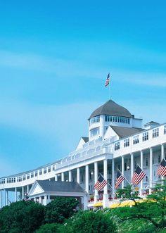 Grand Hotel - Mackinac Island, Michagan