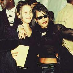 Aaliyah & Kidada Jones